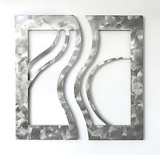 Echoes in the Wind I by Marsh Scott (Metal Wall Sculpture)