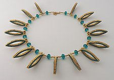 Palisades Necklace by Kathy King (Beaded Necklace)