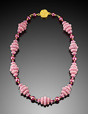 Sweet Dream Necklace by Kathy King (Beaded Necklace)