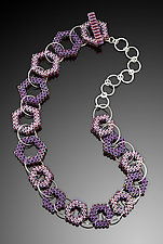 Hex Necklace by Kathy King (Beaded Necklace)