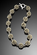 Bubbles Necklace - Neutrals by Kathy King (Beaded Necklace)