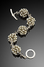 Bubbles Bracelet - Neutrals by Kathy King (Beaded Bracelet)