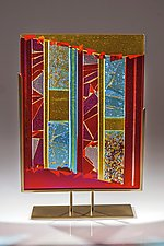 Luminosity #1 by Varda Avnisan (Art Glass Sculpture)
