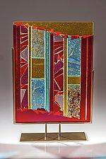 Luminosity #1 by Varda Avnisan (Art Glass Sculpture)