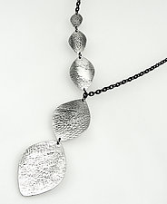 Brigid Shield Necklace by Heather Perry (Silver or Brass Necklace)