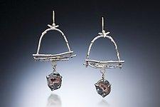Geode Drop Earring by Nina Mann (Gold & Stone Earrings)
