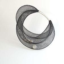 Pearls in Net Bracelet by Dagmara Costello (Nylon & Pearl Bracelet)