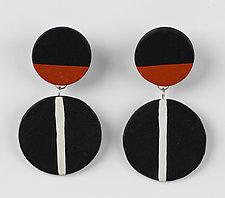 Vera Earring by Klara Borbas (Polymer Clay Earrings)