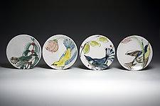 Audubon's Birds Dessert Plates by Eileen de Rosas (Ceramic Plates)