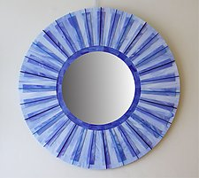 Sky by Gerald Davidson (Art Glass Mirror)