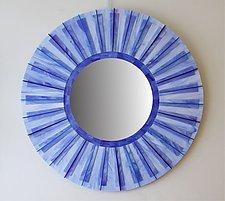 Sky by Gerald Davidson (Art Glass Mirror)