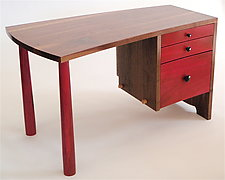 Tairone Desk by Todd  Bradlee (Wood Desk)