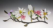 Bouquet by Loy Allen (Art Glass Sculpture)