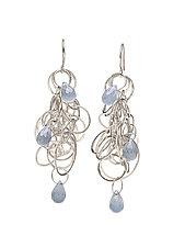 Tangle Earrings by Heather Guidero (Silver & Stone Earrings)