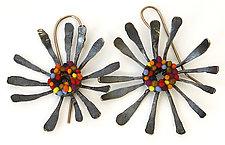 Calder Earrings by Steven Ford and David Forlano (Silver & Polymer Earrings)