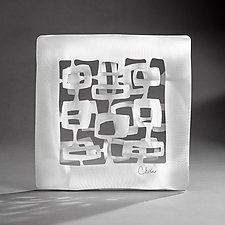 Modern Squares by Cherie Haney (Metal Wall Sculpture)
