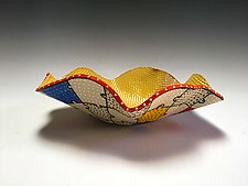 Puzzle Flair Bowl by Vaughan Nelson (Ceramic Bowl)