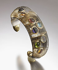 Transit by Erik Stewart (Gold & Stone Bracelet)