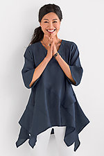 Tremelo Tunic by Heydari  (Linen Tunic)