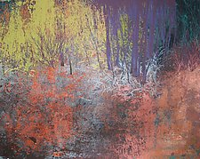 Nates Land #3 by Jan Jahnke (Mixed-Media Wall Art)