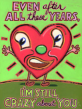 Even After All These Years, I'm Still Crazy About You by Hal Mayforth (Giclee Print)