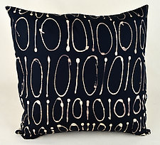 Code Pillow by Ayn Hanna (Cotton & Linen Pillow)