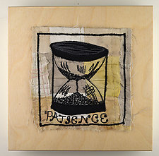 Patience by Ayn Hanna (Fiber Wall Art)