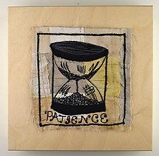 Patience by Ayn Hanna (Fiber Wall Art)