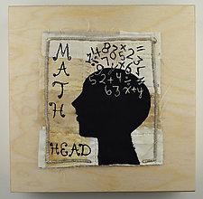 Brainiac by Ayn Hanna (Fiber Wall Art)