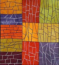 Plenty by Janet Steadman (Fiber Wall Art)