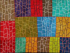 Growth by Janet Steadman (Fiber Wall Art)