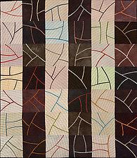 Twigs by Janet Steadman (Fiber Wall Art)
