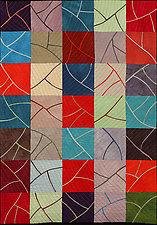 Sprigs by Janet Steadman (Fiber Wall Art)
