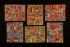 Keepers by Janet Steadman (Fiber Wall Art)