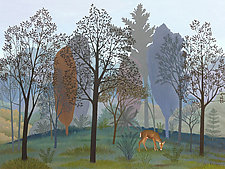Landscape in Grays by Jane Troup (Giclee Print)