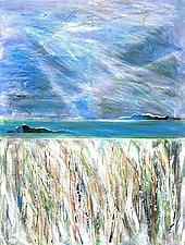 Mirage by Betty Green (Mixed-Media Wall Art)