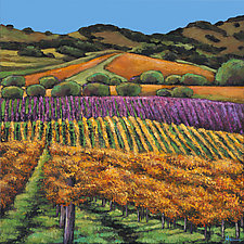 Napa by Johnathan  Harris (Giclee Print)