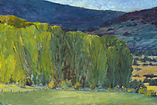 Highland Greens by Ken Elliott (Oil Painting)