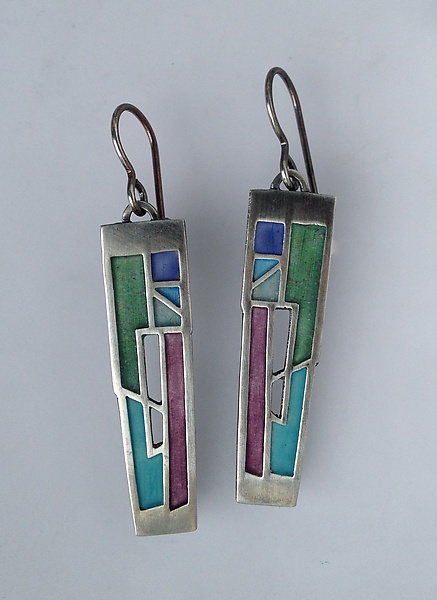 Crevasse Earrings No. 306