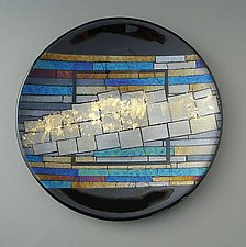 Formations by Sabine  Snykers (Art Glass Platter)