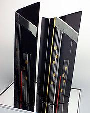 Skyscrapers by Colleen Gyori (Art Glass Sculpture)
