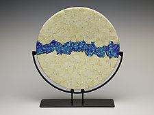 WatersEdge by Patti & Dave Hegland (Art Glass Sculpture)