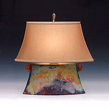 Venus Lamp by Mary Obodzinski (Ceramic Table Lamp)