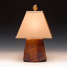 Celestial Lamp by Mary Obodzinski (Ceramic Table Lamp)