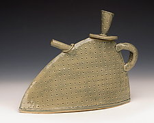 Susan Teapot by Mary Obodzinski (Ceramic Teapot)
