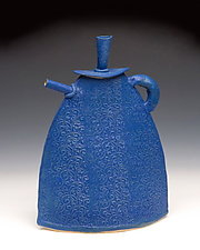 Josephine Teapot by Mary Obodzinski (Ceramic Teapot)