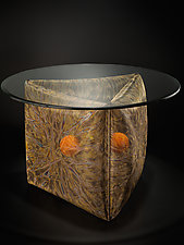 Genesis Table by Lanny Bergner (Metal Side Table)