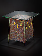 Flora Table 2 by Lanny Bergner (Metal Side Table)