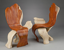 Ephemeral Chairs by Aaron Laux (Wood Chair)