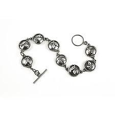 Eight Sprig Bracelet by Vickie  Hallmark (Silver Bracelet)